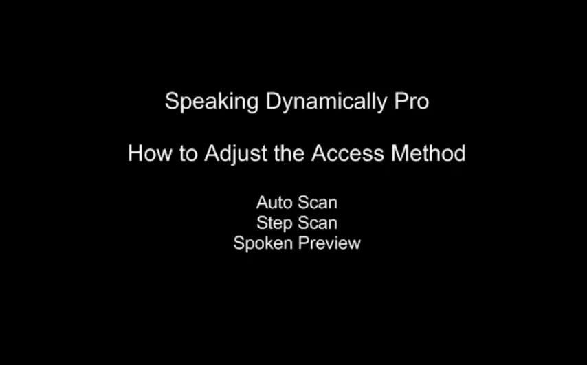 SDPro Access Method