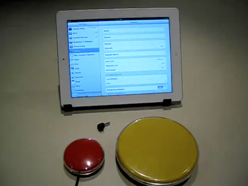 How to Connect Blue Tooth Super Switch to iPad